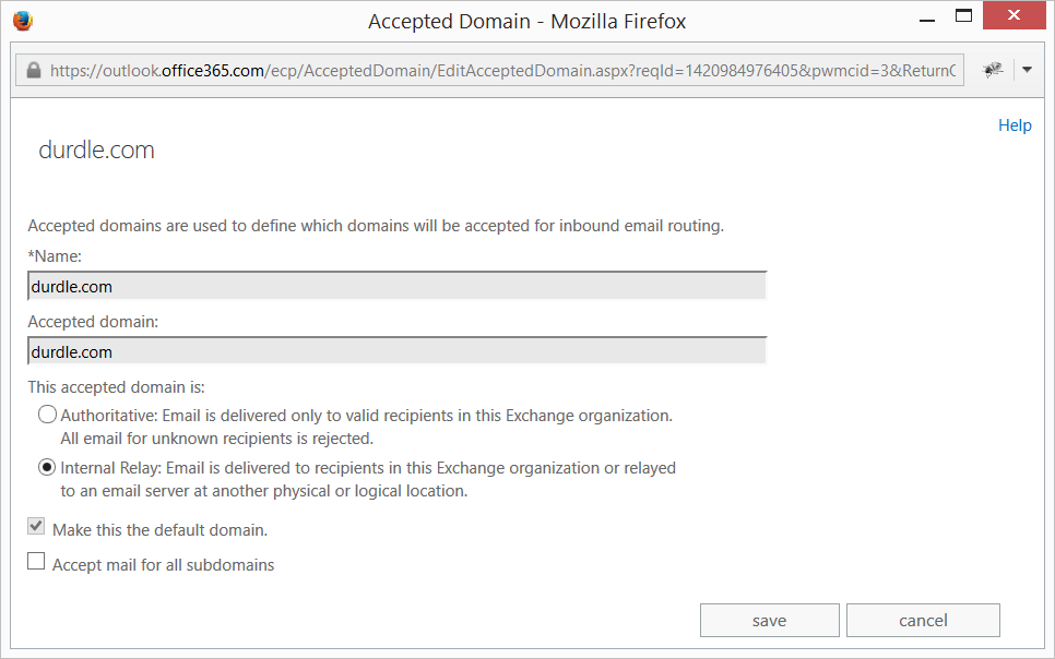 Email Suffix Matching Catch All on Office 365 – Howard Durdle